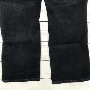 Chico's Jeans - Chicos Platinum Jeans Quartz Black MidRise Bootcut